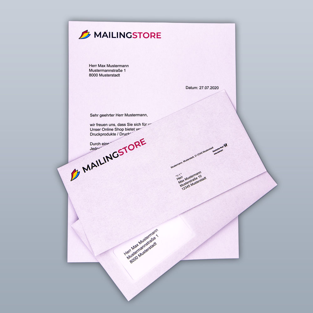 Kuvertierte Mailings