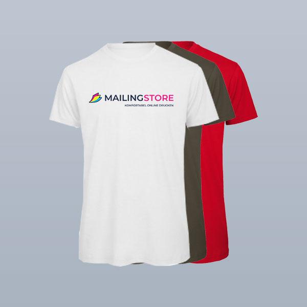 T-Shirts im Textildruck bedrucken lassen